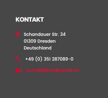 Kontakt und Anfahrt Dresden