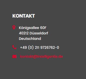 Kontakt und Anfahrt Düsseldorf